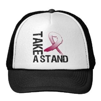 Throat Cancer Take A Stand Cap