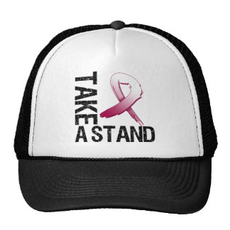 Throat Cancer Take A Stand Hats