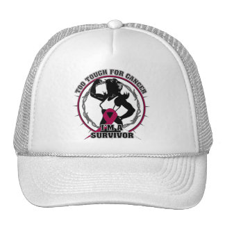 Throat Cancer Too Tough For Cancer Trucker Hat