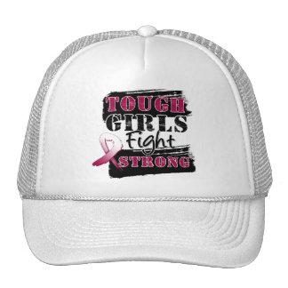 Throat Cancer Tough Girls Fight Strong.png Trucker Hat