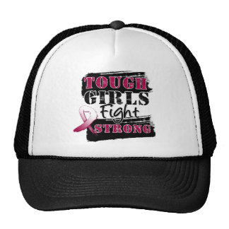Throat Cancer Tough Girls Fight Strong.png Hats