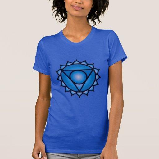 Throat Chakra Balance Women's American Apparel T Shirts