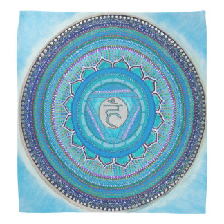 Throat Chakra Mandala Bandana