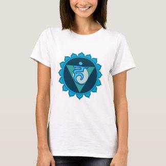 Throat Chakra Visuddha Women's T-Shirt, White T-Shirt