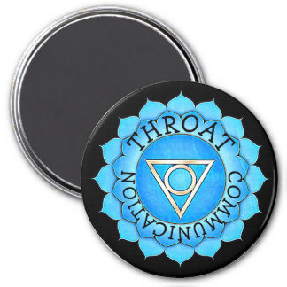 Throat Communications Blue Chi Chakra Magnet