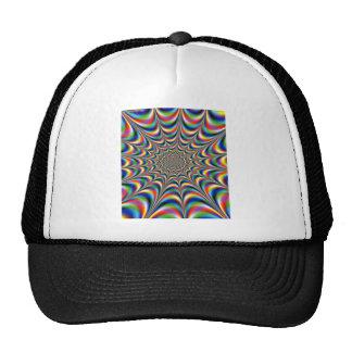 throbbing-fractal-optical illusion cap