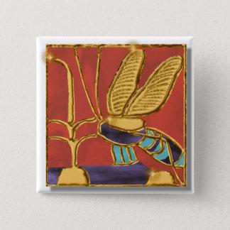 Throne Name 15 Cm Square Badge
