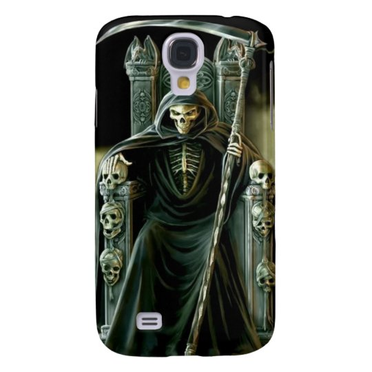 Throned Grim Reaper Galaxy S4 Case