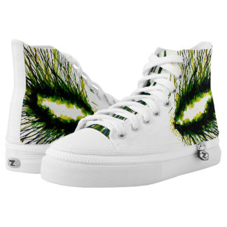 Through a Dryad's Eyes - Printed Shoes