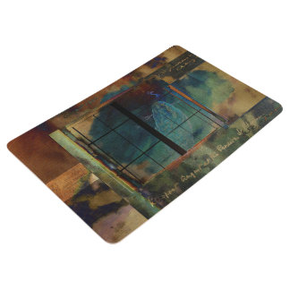 Through a Glass Darkly Floor Mat