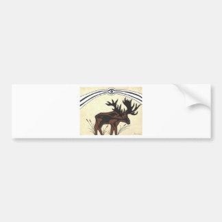 Through a Mammals Eye Bumper Sticker