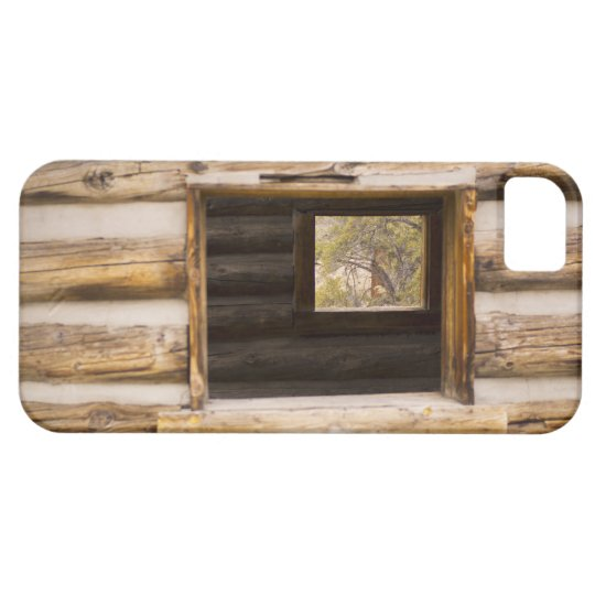 Through and Through Cabin Window iPhone 5 Covers