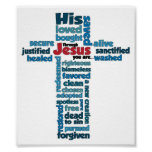 Through Jesus, you are... Print