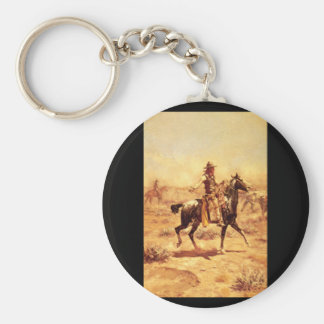 Through the Alkali', Charles_Art of America Basic Round Button Key Ring