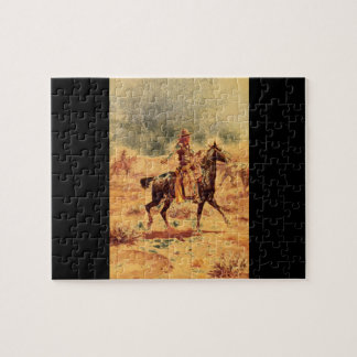 Through the Alkali', Charles_Art of America Puzzles
