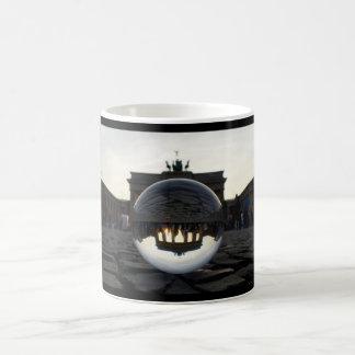 Through the crystal ball 001.03, Brandenburg Gate Coffee Mug