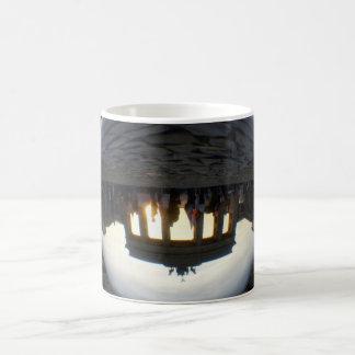 Through the crystal ball 001.08, Brandenburg Gate Coffee Mug