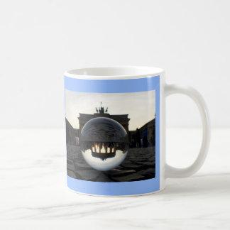 Through the crystal ball 002.5, Brandenburg Gate Coffee Mug