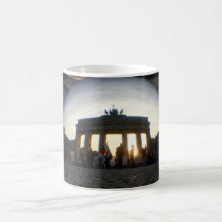 Through the crystal ball 01.09.1, Brandenburg Gate Coffee Mug