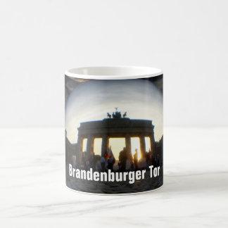Through the crystal ball 01.09.2, Brandenburg Gate Coffee Mug