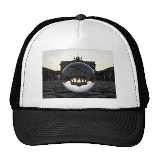 Through the crystal ball, Brandenburg Gate Cap
