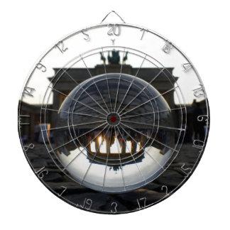 Through the crystal ball, Brandenburg Gate Dartboard
