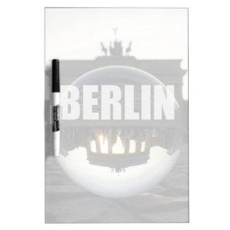 Through the crystal ball, Brandenburg Gate Dry Erase Whiteboard