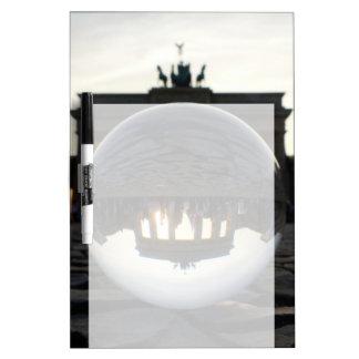 Through the crystal ball, Brandenburg Gate Dry-Erase Whiteboards