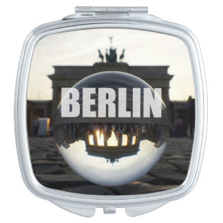 Through the crystal ball, Brandenburg Gate Makeup Mirrors