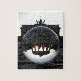 Through the crystal ball, Brandenburg Gate Puzzles