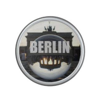 Through the crystal ball, Brandenburg Gate Speaker