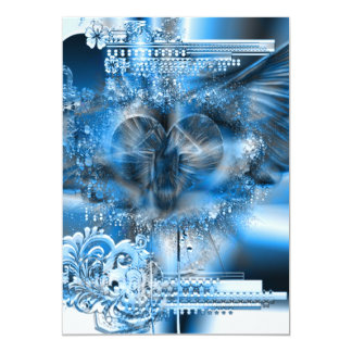 Through The Heart (Christmas Edition) 5x7 Paper Invitation Card
