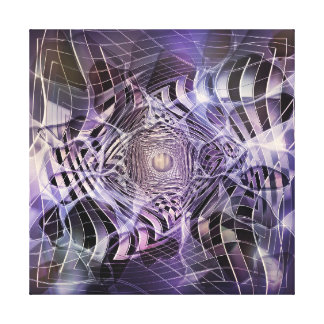 THROUGH THE LILAC LOOKING GLASS CANVAS PRINT