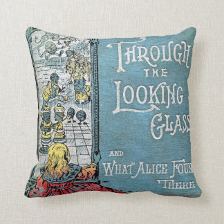 Through the Looking Glass American MoJo Pillow