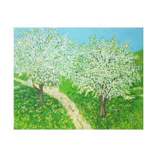 Through The Meadow - From Original Watercolour Art