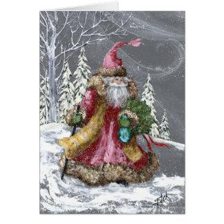 THROUGH THE SNOW CARD