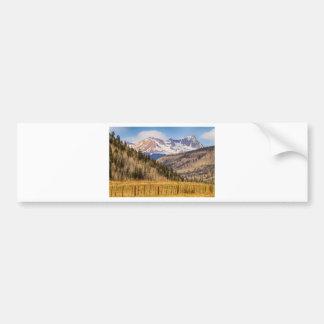 Through The Valley Up the Mountain Bumper Sticker