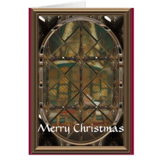 Through The Window Greeting Card