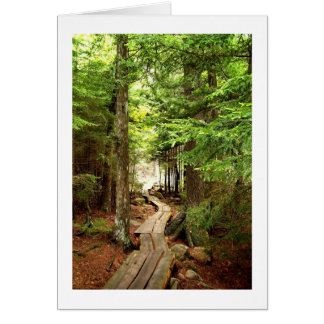 Through the Woods Card