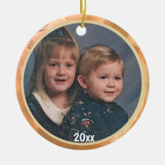 Through The Years Photo Keepsake Ornament
