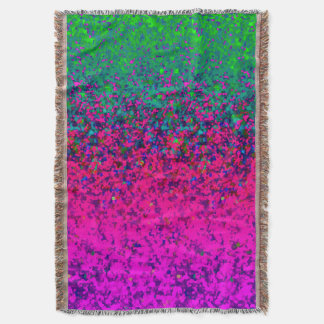 Throw Blanket Glitter Dust Background