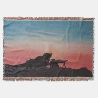 Throw Blanket Military All Season