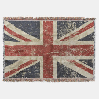 Throw Blanket with flag of Britain