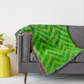 Throw Blanket Zig Zag Sparkley Texture