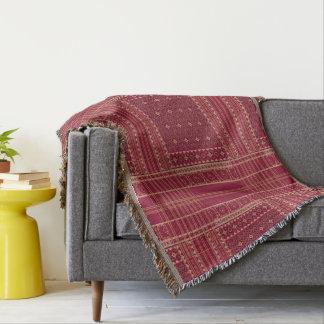 Throw Blankets. Classic Ikat Tribal Pattern