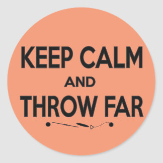 Throw Far, Shot Put Discus Hammer Throw Sticker