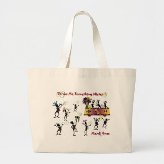Throw me something Mister! Tote Bag