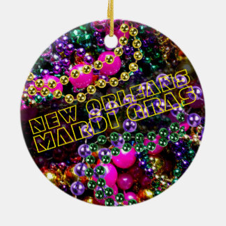 """throw me something, Mister!"" MARDI GRAS ORNAMENT"