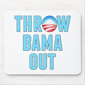 Throw (O)Bama Out Mouse Pad