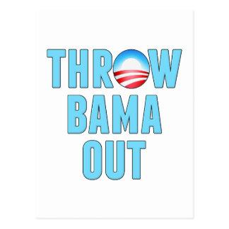 Throw (O)Bama Out Postcard